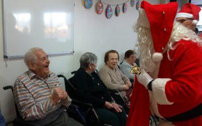 VISITA PAPÁ NOEL NAVIDAD 2018