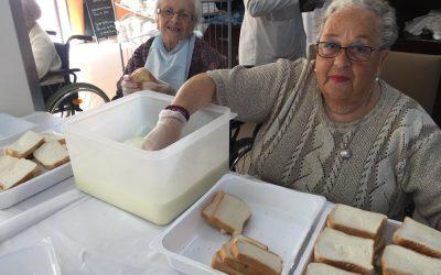 Torrijas 2019 en cer espartinas, en residencia de ancianos en sevilla