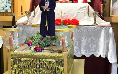 Via Crucis en resicencia de ancianos Cer-Espartinas