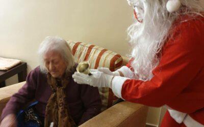 Nochebuena en residencia de ancianos CER